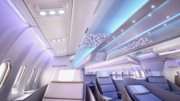 aircraft-interiors-expo-2016-airbus-reveals-full-scale-cabin-mock-up-of-A330neo-showcasing-new-airspace-by-airbus-cabin-brand-aeromorning.com