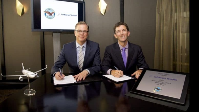 pratt-whitney-lufthansa-technik-sign-strategic-agreement