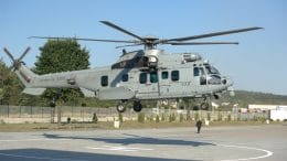 H225M Caracal lands in Kielce_AirbusHelicopters
