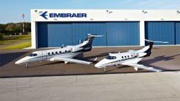 Hangar, Phenom 100, Phenom 300