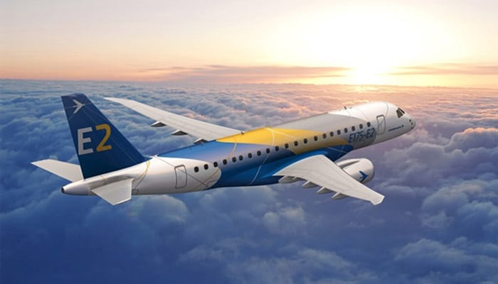 Regional Jet E175-E2 by Embraer - © Embraer