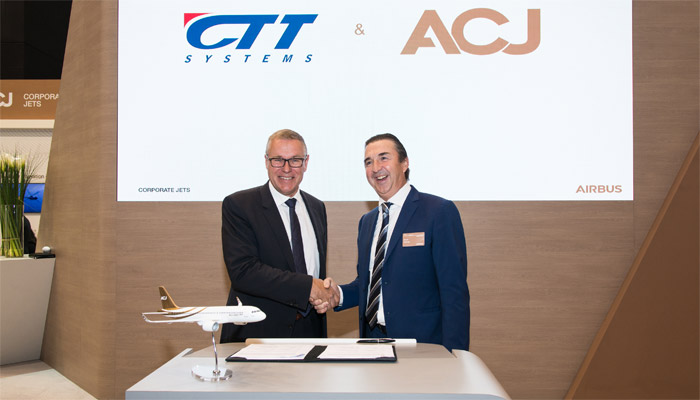 CTT Systems partners with Airbus Corporate Jets to optimize a humidification system for the ACJ320 Family