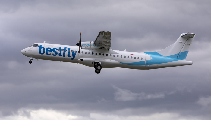 Angolan private airline Bestfly leases two ATR 72-600s from Acia Aero