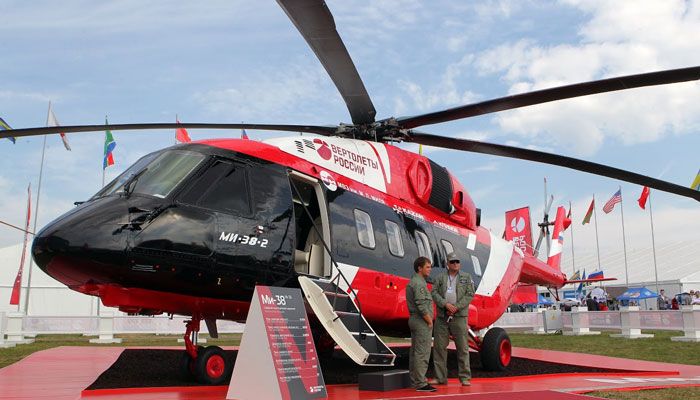 Mi-38 successfully passed testing in extreme conditions