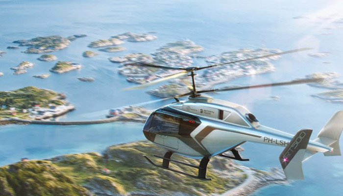 The VRT-500 helicopter will have the Liebherr environmental control system on board