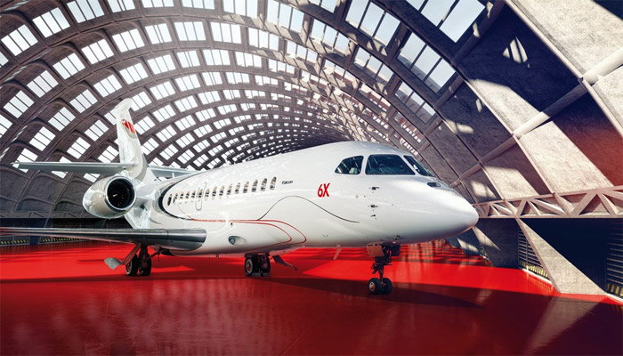 Falcon News Release: Dassault To Highlight Falcon 8X, 900LX Trijets at Dubai