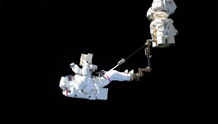 Watch live: second #SpacewalkForAMS