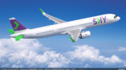 Chile's SKY orders 10 A321XLRs to expand its international footprint