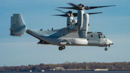 Bell Boeing Delivers First Modified Osprey for Improved Fleet Readiness