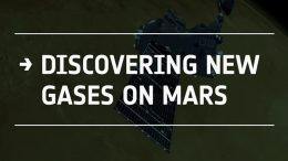 Discovering new gases on Mars