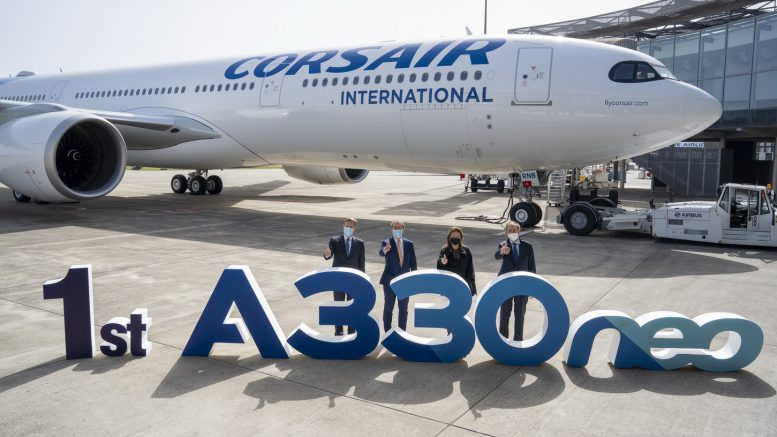 Corsair takes delivery of its first A330neo