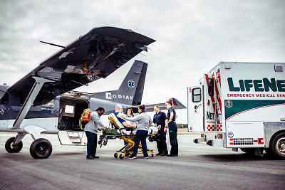 The versatility of Daher's Kodiak 100 aircraft opens enhanced airlift capabilities in the air ambulance role with Airborne Flying Service
