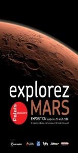 EXPLOREZ MARS du 9 février au 28 août 2016 @ Palais de la Découverte | Paris | Île-de-France | France