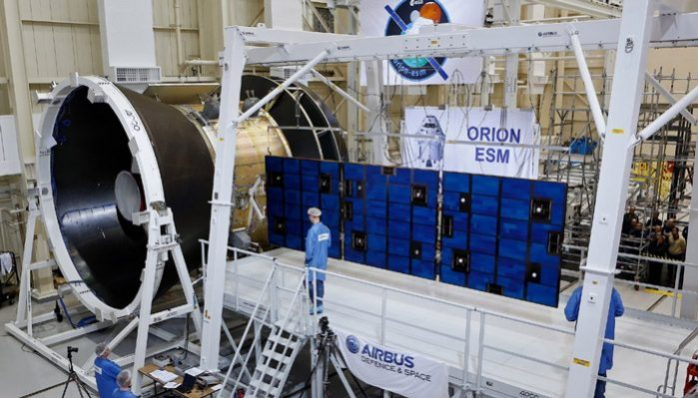 les-panneaux-solaires-du-vaisseau-spatial-orion-testes-avec-succes-aeromorning.com
