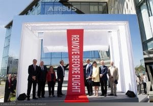 inauguration wings-campus-airbus group