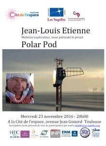 Conférence Polar Pod Expédition @ Cité de l'Espace   Toulouse   Languedoc-Roussillon Midi-Pyrénées   France