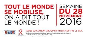 L'IPSA et le Groupe IONIS en veille contre le sida @ Institut polytechnique des sciences avancées | Ivry-sur-Seine | Île-de-France | France