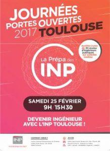 Journée Portes Ouvertes INP Toulouse @ INP Toulouse   Toulouse   Occitanie   France