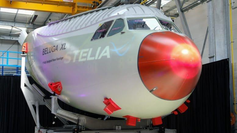 beluga-pointe-avant-stelia-aerospace