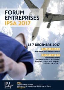Forum entreprises IPSA 2017 @ IPSA Paris   Ivry-sur-Seine   Île-de-France   France