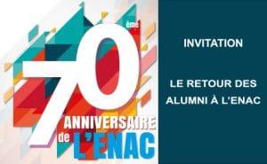 70ème anniversaire de l'ENAC (Ecole nationale de l'aviation civile) @ Ecole nationale de l'aviation civile   Toulouse   Occitanie   France