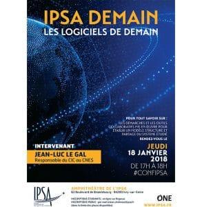 IPSA Demain invite le CNES pour une conférence dédiée à la modélisation 3D @ IPSA Paris   Ivry-sur-Seine   Île-de-France   France