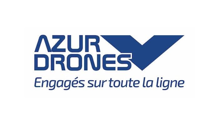 Le drone autonome d'Azur Drones en expérimentation sur le site Orano La Hague