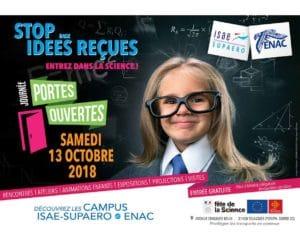 Journée Portes ouvertes des campus de l'ENAC et de l'ISAE-SUPAERO @ École nationale de l'aviation civile   Toulouse   Occitanie   France
