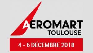 Convention AEROMART du 4-6 décembre à Toulouse ! @ Le Parc des Expositions de Toulouse   Toulouse   Occitanie   France