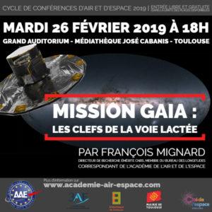"""Conférence """"Mission Gaia : les clefs de la Voie lactée"""" par François Mignard @ Médiathèque José Cabanis   Toulouse   Occitanie   France"""