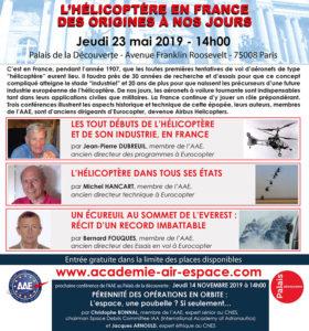 L'hélicoptère en France, des origines à nos jours @ Palais de la découverte