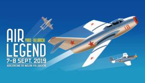 Meeting aérien Air Legend 2019 le 7 et 8 septembre à Melun Villaroche @ Aérodrome de Melun Villaroche