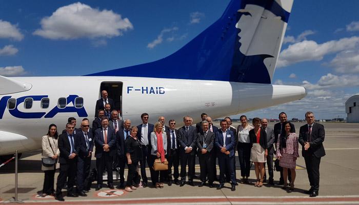 Air Corsica signe un contrat de 5 ans avec AIRBUS avec un nouvel ATR