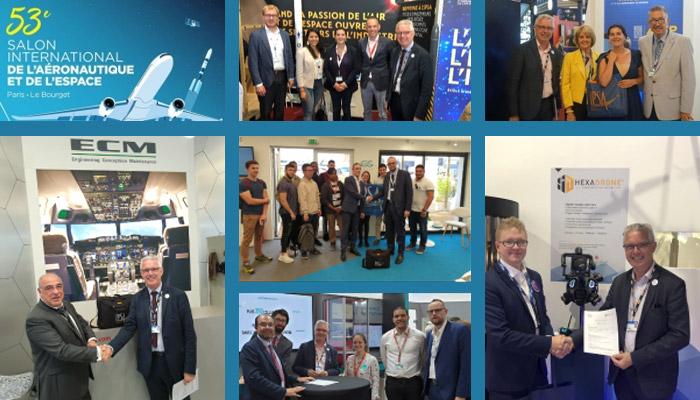 L'IPSA décolle avec de nouveaux partenaires lors du Paris Air Show 2019