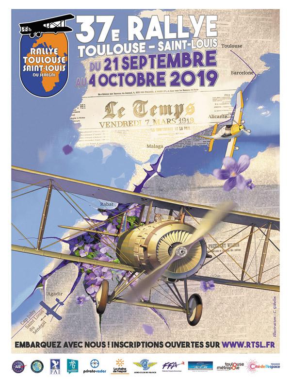 pilotes et équipages du 37ème Rallye Toulouse-St Louis Toulouse-Lasbordes