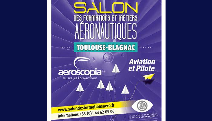 Salon des Formations et Métiers Aéronautiques a l'aeroscopia toulouse blagnac