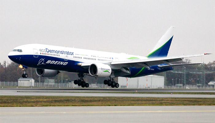 Boeing et Fraport présentent des technologies innovantes dans le cadre de l'exposition européenne Boeing ecoDemonstrator