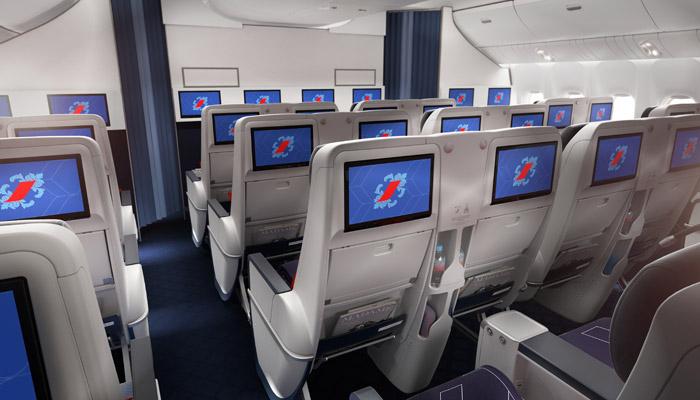 Nouvelles cabines Air France signées Brandimage