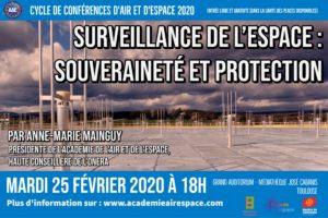Surveillance de l'espace : souveraineté et protection @ Médiathèque José Cabanis