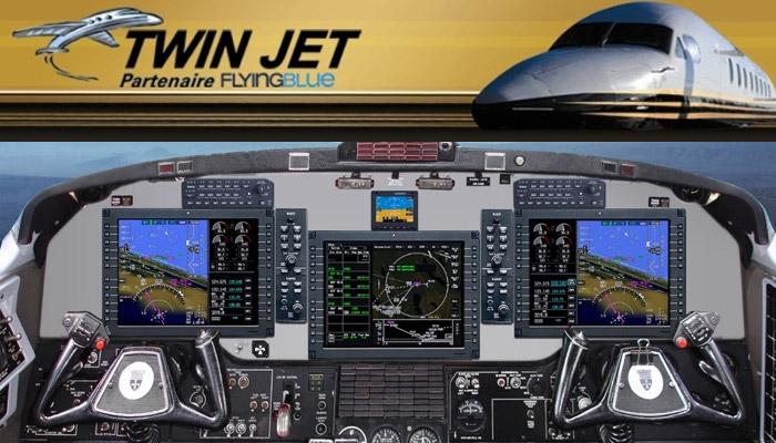 Twin Jet fait l'acquisition d'un nouvel appareil