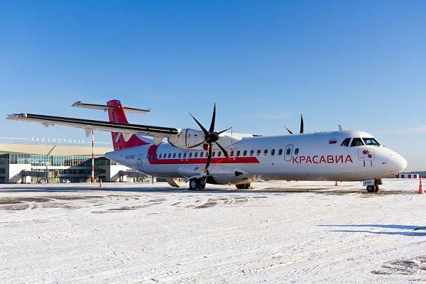 KrasAvia renforce la connectivité régionale en Sibérie grâce à deux ATR 72
