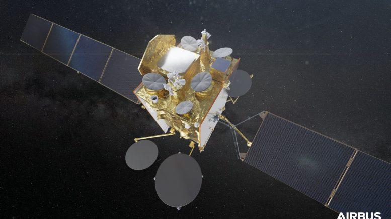 Dans le cadre du programme Syracuse IV, Airbus s'est vu notifier Copernic