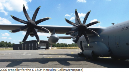 NP2000 propeller for the C-130H Hercules (Collins Aerospace)